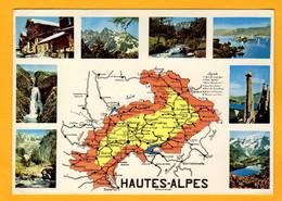 Hautes Alpes     Edt  Des Alpes       N° 3707 - Maps
