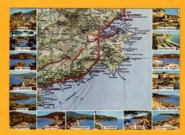 De Bormes à Ste Maxime      Edt   Rella       N°  97 30 - Maps