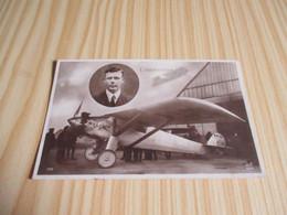 CPA Lindbergh Et Le Spirit Of St-Louis. - 1919-1938