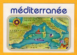 La Méditerranée       Edt   Altari       N°  5741 - Maps