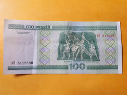 BIELORUSSIE 100 ROUBLES 2000 PEU CIRCULé - Belarus