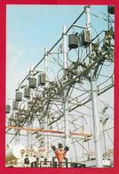 CARTOLINA NV ITALIA - 1890 1990 Cento Anni Di CIRCUMVESUVIANA - Sottostazione Elettrica Di Conversione - 10 X 15 - Equipment