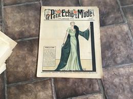Le Petit écho De La Mode EN L ÉTAT. Magazine De Mode 1932     Pour Le Soir Robe Du Soir - 1900 - 1949