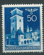 Pologne Gouvernement General    Yvert N° 64 **       Pal 6212 - Governo Generale