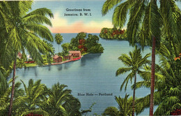 JAMAÏQUE. Carte Postale Neuve. Blue Hole - Portland. - Jamaica