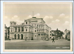 XX001334/ Stettin Stadttheater Foto AK Ca.1938 - Pommern