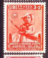 Italie Poste Aérienne Y&T N°100 Neuf Avec Trace De Charnière Forte - Luchtpost