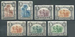 Nyassa YT N°27-33-35-36-37-38-39 Girafe Et Dromadaires Neuf/charnière * - Nyassa