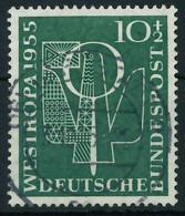 BRD 1955 Nr 217 Zentrisch Gestempelt X875DC2 - Used Stamps