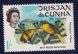 "TRISTAN DA CUNHA - Faune, Oiseaux, ""Starchy, Big Canary, Petrel, Gony"", Effigie De La Reine - MNH - Tristan Da Cunha"