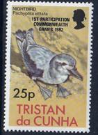 TRISTAN DA CUNHA - Faune, Oiseaux, 1ère Participation Commonwealth, Jeux De 1982 + Reine - MNH - 1982 - Tristan Da Cunha