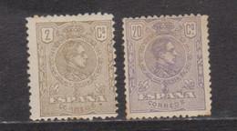 Año 1920 Edifil 289-290 Alfonso XIII - Ongebruikt