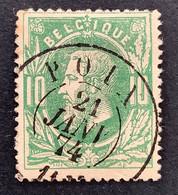 Leopold II 30 - 10c Gestempeld DC POIX - 1869-1883 Leopoldo II