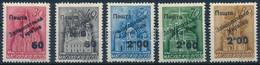 ** Ungvár 1945 5 Klf Templom Bélyeg Voloncs Szignóval (370.000) - Unclassified