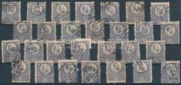 O 1871 Réznyomat 25kr 28 Db Bélyeg Sok Színváltozattal (~230.000) - Unclassified