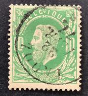 Leopold II 30 - 10c Gestempeld DC TROOZ - 1869-1883 Leopold II