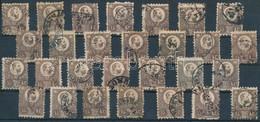O 1871 Réznyomat 15kr 28 Db Bélyeg Sok Színváltozattal (~52.000) - Unclassified