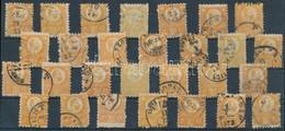 O 1871 Réznyomat 2kr 28 Db Bélyeg Sok Színváltozattal (~56.000) - Unclassified
