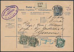 1895 Szállítólevél 2 X 30kr + 3kr Bérmentesítéssel Svájcba Küldve - Unclassified