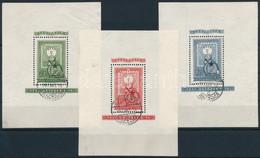 O 1951 80 éves A Magyar Bélyeg Blokksor (45.000) - Unclassified