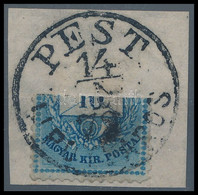 """1878 10kr Felezés Kivágáson """"PEST / LIPÓTVÁROS"""" érdekesség! - Unclassified"""
