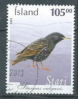 Islande YT N°1040 Etourneau Sansonnet Oblitéré ° - Gebraucht