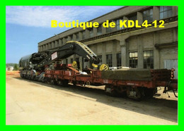 ACACF 125 - Wagon Grue COCKERILL De 85 Tonnes Au Dépôt - CHALINDREY - Haute Marne - SNCF - Equipment