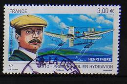France 2010 - Centenaire Du 1er Vol En Hydravion - Henri Fabre N° 73 Cachet à Date - 1960-.... Used
