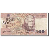 Billet, Portugal, 500 Escudos, 1988, 1988-08-04, KM:180b, TTB - Portugal