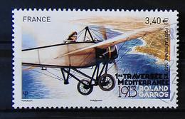 France 2013 - Centenaire De La 1ère Traversée De La Méditerranée - Roland Garos N°77 - 1960-.... Used