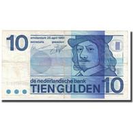 Billet, Pays-Bas, 10 Gulden, 1968, 1968-04-25, KM:91b, TB+ - 10 Gulden