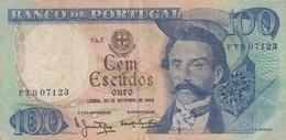 Portugal #169a, 100 Escudos 1965 Banknote - Portugal