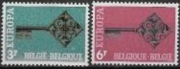 Belgique 1968 Neufs ** N° 1452/1453 Europa - 1968