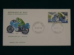 Mali 1976 Motorcycles FDC VF - Mali (1959-...)