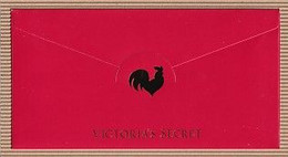 Chinese New Year CNY 2017' 'VICTORIAS SECRET' YEAR Of The ROOSTER CHINOIS Red Pockets RARE! - Modern (from 1961)
