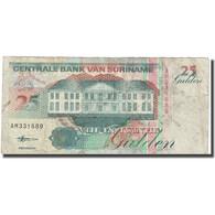Billet, Surinam, 25 Gulden, 1998, 1998-02-10, KM:138d, TB+ - Surinam