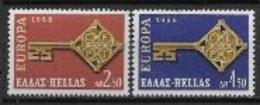 Grèce 1968 Neufs ** N°  951/952 Europa - 1968