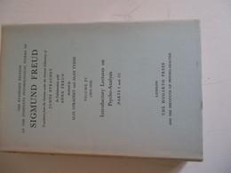 The Standard Edition Of The Complète Psychological Works Of SIGMUND FREUD Volume XV (1915-1916) - Psychology