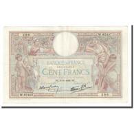 France, 100 Francs, Luc Olivier Merson, 1938, 1938-11-03, TTB+, Fayette:25.34 - 100 F 1908-1939 ''Luc Olivier Merson''