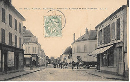 A/101        77     Brie  Comte Robert             Rue De Melun & Parvis Saint-étienne - Brie Comte Robert