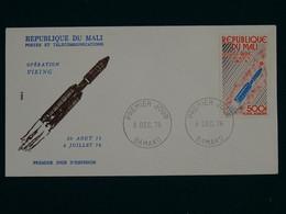 Mali 1976 Operation Viking, US Mars Mission FDC VF - Mali (1959-...)
