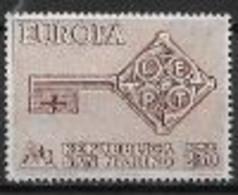 Saint Marin 1968 Neufs ** N° 720 Europa - 1968