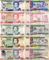 BELIZE 2 5 10 20 50 Dollars 2011 - 2017 P 66 67 68 69 70 UNC - Belize