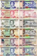 BELIZE 2 5 10 20 50 100 Dollars 2011 - 2017 P 66 67 68 69 70 71 UNC - Belize