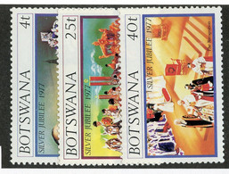 BC 6814 *Offers Welcome* 1977 Sc 179-81 Mnh** - Botswana (1966-...)