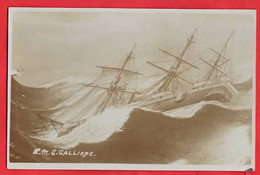 HMS GALLIPOLI    3 MASTED SAILING SHIP  BELL  RP - Veleros