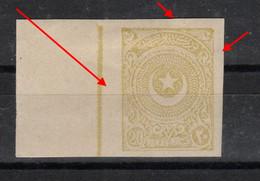 (0808) 1923-25 Cresent And Star MH* MAJOR ERROR !!! - Ungebraucht