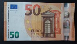 50 EURO DRAGHI V SPAIN V001 UNCIRCULATED UNC - Other
