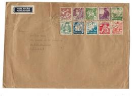 GG - Enveloppe Envoyée De Libonne En Suisse 1941 - Superbe Affranchisement - Briefe U. Dokumente