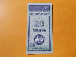 MONGOLOIE 50 MONGO 1993 BILLET NEUF - Mongolia